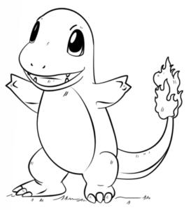 charmander-pokemon-coloring-page - helfenleichtgemacht.de
